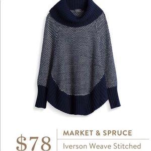 Stitch Fix Market & Spruce Iverson Stitched Poncho